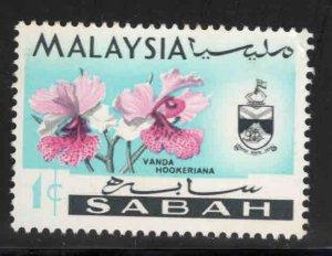 Malaysa Sabah  Scott 17 Used