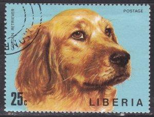 Liberia 673 Dogs 1974