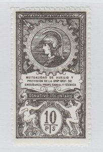 Spain Colonies Fiscal Revenue stamp -12-20- Scarce mnh gum 10pts