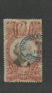 1872 United States Internal Revenue Documentary Stamp #R146 Used Average