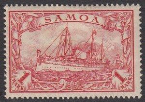 Samoa 66 MH CV $4.25