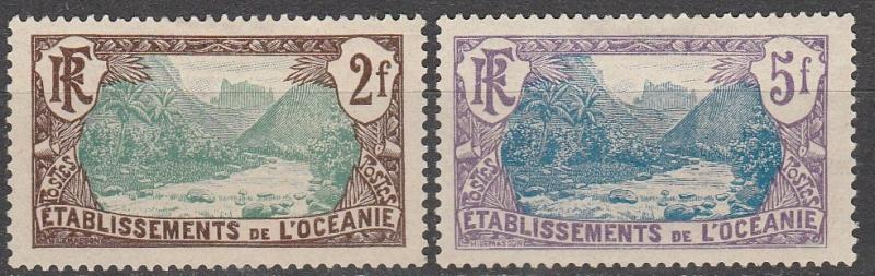 French Polynesia #53-4  Unused CV #17.25   (A13079)