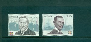 Norway - Sc# - 1430-1. 2005 Dissolution of Union With Sweden. MNH $4.00.