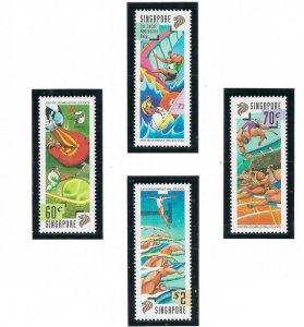 Singapore 756-59 MNH 1996 Olympics (ap6903)