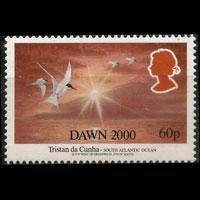 TRISTAN DA CUNHA 2000 - Scott# 646 Millennium 60p NH