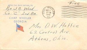 United States Georgia Camp Wheeler 1943 machine  1941-1946  Camp Wheeler Geor...
