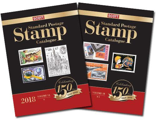 2018 Scott Standard Postage Stamp Catalogue, Volume 4 A/B (Countries J-M)