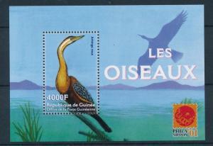 [26319] Guinea 2001 Birds Vögel Oiseaux Ucelli  MNH