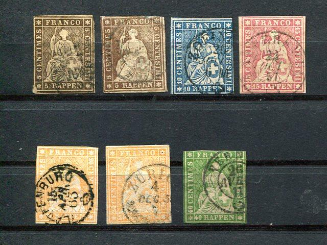 Switzerland lot of all different earlies used HICV
