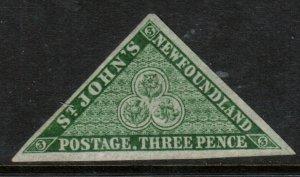 Newfoundland #11a Very Fine Mint No Gum