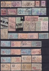 France Revenues Collection 1873-1933  Z790
