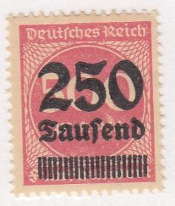 Germany, Scott # 259(2), MHH