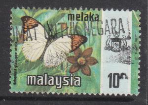 Malaysia Malacca 1977 Sc 78a Harrison Printing 10c Used