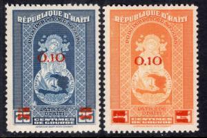 Haiti 355-356 MNH VF