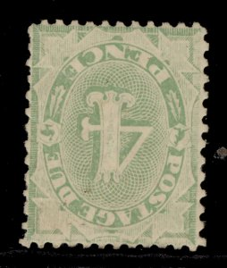 AUSTRALIA EDVII SG D56w, 4d dull green, M MINT. Cat £275.
