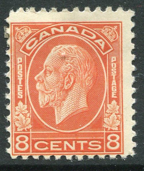 CANADA # 200 Average Light Hinged Issue - KING GEORGE V - S5665
