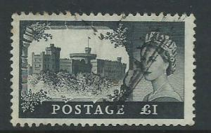 Great Britain - QE II  Wilding high value  SG 598a