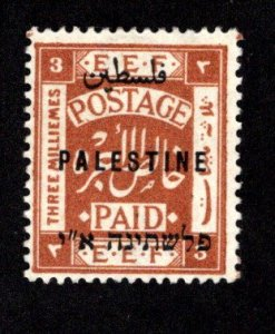 PALESTINE  SC# 39  F/MOG