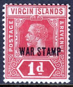 Virgin Islands - Scott #MR1a - MH - SCV $2.50
