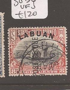 Labuan Postage Due SG D6 VFU (2ayy)