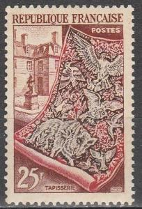 France #711  F-VF Unused CV $12.00  (S6936)