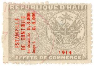 (I.B) Haiti Revenue : Commercial Duty 3800c
