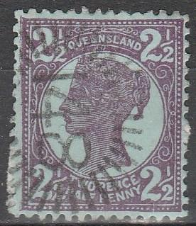 Queensland #116  F-VF Used CV $4.50  (A5845)