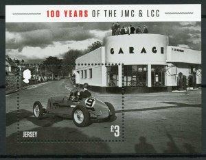 Jersey Cars & Motorcycles Stamps 2020 MNH JMC & LCC Light Car Club 1v M/S