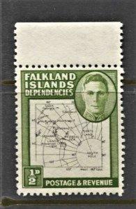 STAMP STATION PERTH -Falkland Is.Dep.#1L1 MNH OG VF Thin Maps (Set CV$130)CV$20.
