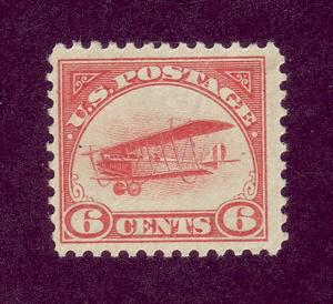 C1 MNH  6c. Air Mail,  scv: $110,  FREE Insured Shipping