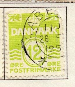 Denmark 1933 Early Issue Fine Used 12ore. 221079