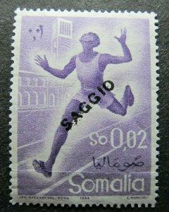 Somalia Saggio Proof Essay MNH** A4P39F9
