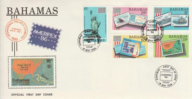 Worldwide Lot- Ameripex FDC Collection (A1751L)