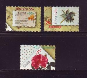 Netherlands Sc B635-7 1988 FILACEPT stamp set mint NH
