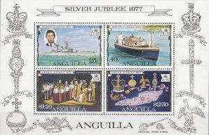 Anguilla, Sc 274a (2), MNH, 1977, Silver Jubilee