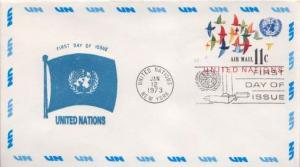 United Nations, First Day Cover, Postal Stationery