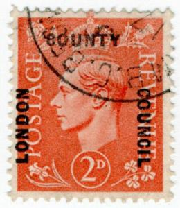 (I.B) George VI Commercial Overprint : London County Council