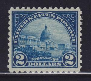 572 VF-XF original gum never hinged nice color cv $ 140 ! see pic !