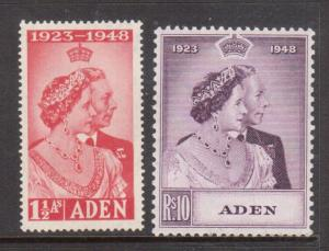 Aden #30 - #31 Very Fine Never Hinged Set
