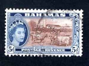 Bahamas #164,  Postally Used, F/VF,  CV $2.40   ...0420145