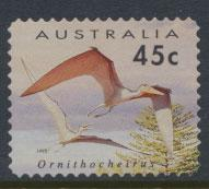 Australia SG 1430 Used  Self adhesive  - Prehistoric Animals