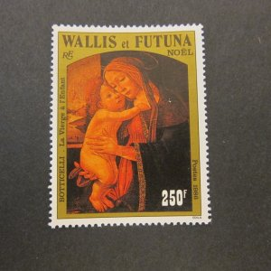 French Wallis and Futuna Islands 1986 Sc 346 Christmas Religion set MNH