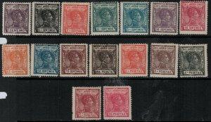 Elobey 1907 SC 39-54 Mint SCV $152.00 Set