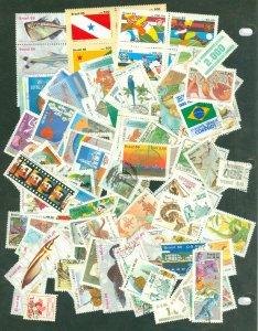 selection Brazil 1985-93 mint/use 118 different CV $55
