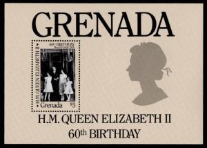 Grenada 1374 MNH Queen Elizabeth 60th Birthday