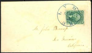 33, XF-SUPERB GEM USED ON COVER to LYME NH