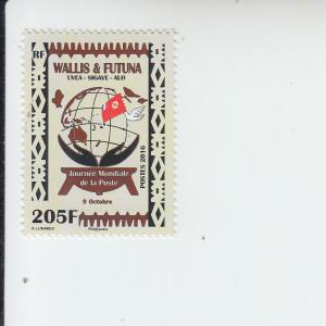 2016 Wallis & Futuna Is World Post Day (Scott 779) MNH