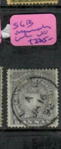 BRITISH EAST AFRICA (P1005B)  ARMS 8A  SG 13 PAPERMAKERS WMK, LAMU  CDS  VFU