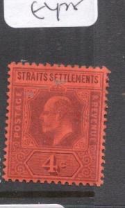 Malaya Straits SG 112 MOG (7dla)