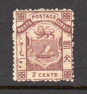 North Borneo #10 perf 14 Unused Hinged F520